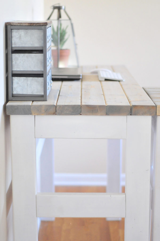DIY Counter Height Desk