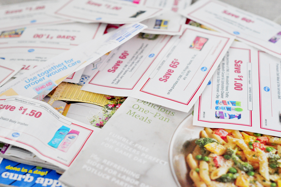 How to Feed a Family of 3 for $80: Coupons