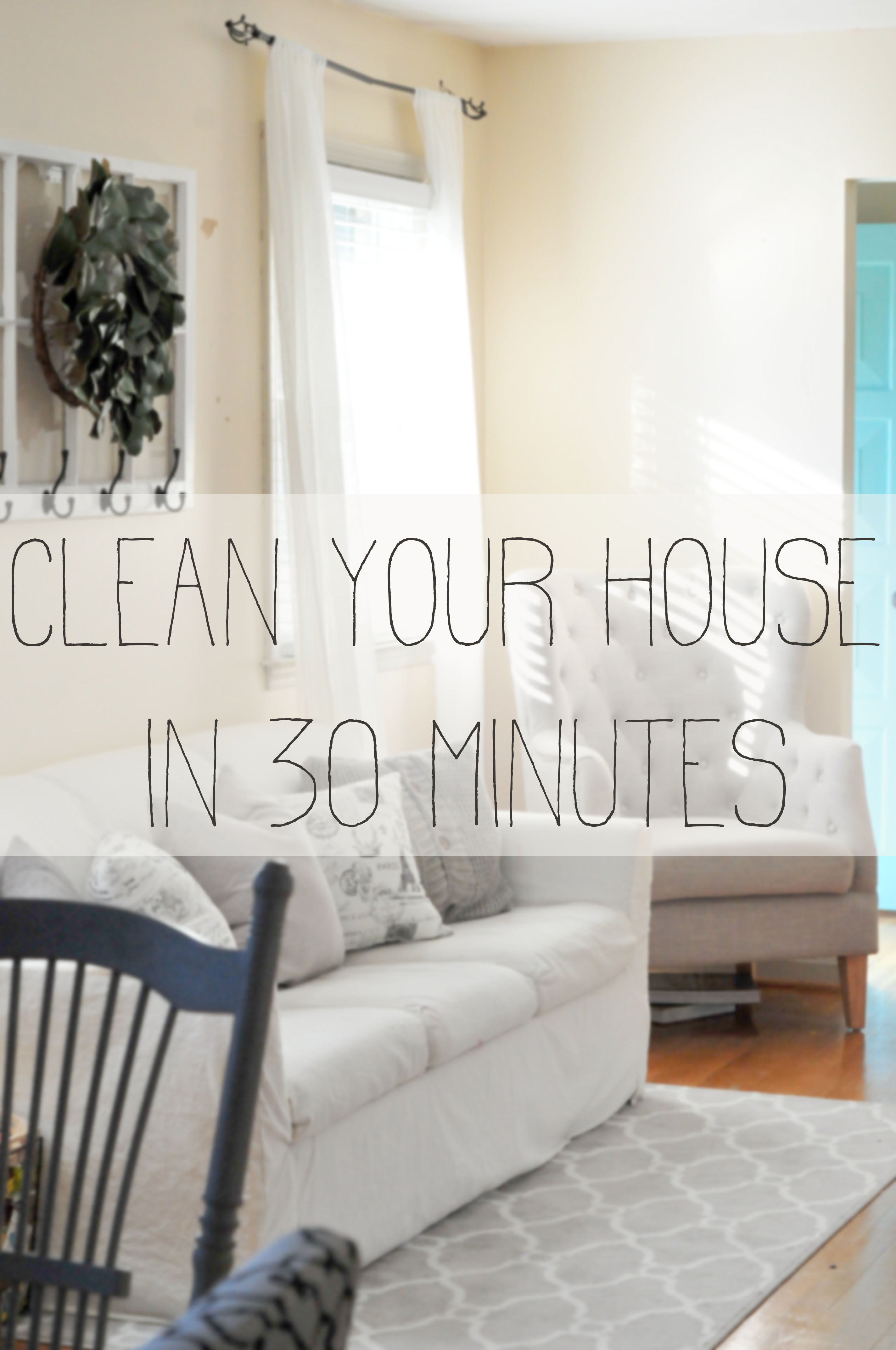 Clean Your House in 30 Minutes