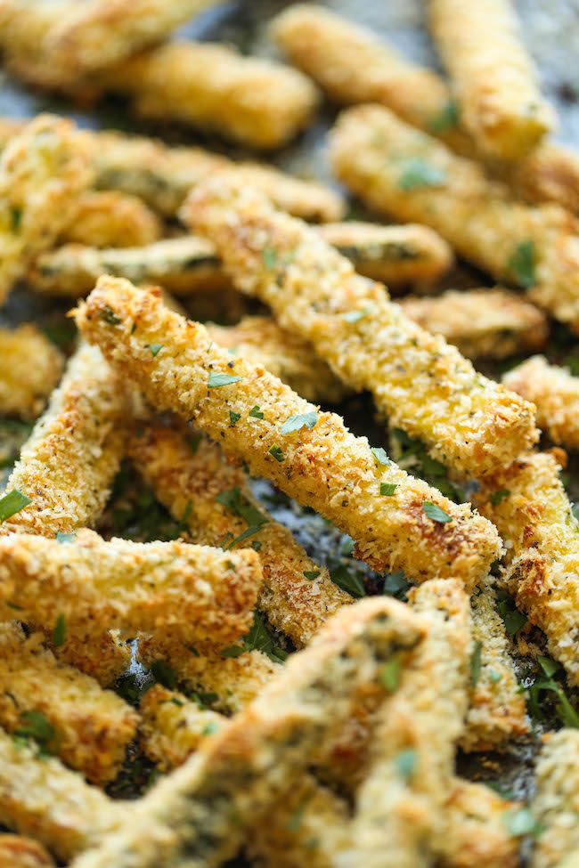 Zucchini Fries - Damn Delicious