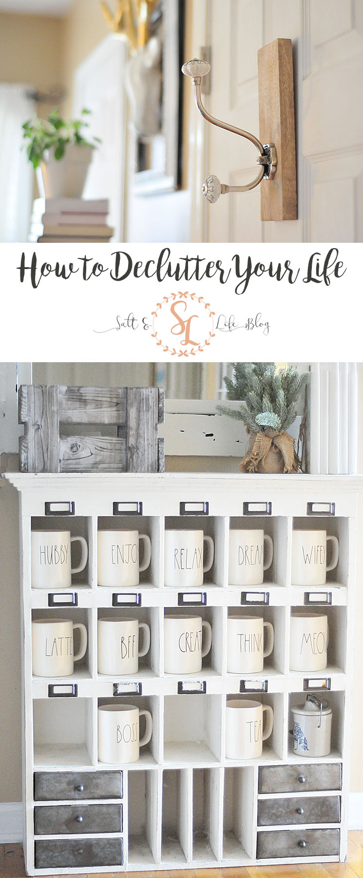 Is decluttering on your to-do list? Us, too. We're going through all the steps to declutter your entire life, not just your home! Check out the details here along with a free printable! #declutter #decluttering #cleaning #cleaninglist #freeprintable #printable #checklist #newyear #resolutions #minimalism